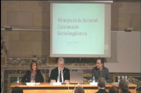 Enregistrament de l'acte de commemoració del 40è aniversari de la SOCS